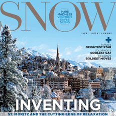 Shelli Jacket featured in SNOW Magazine