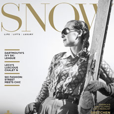 Carolyn Jacket seen in SNOW MAGAZINE